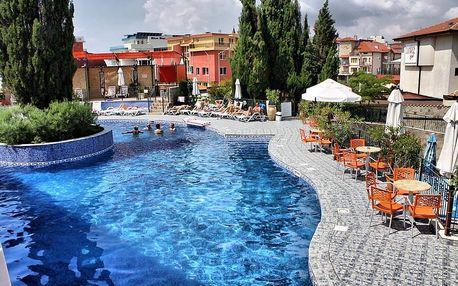 Bulharsko - Burgas na 8 dní, plná penze nebo polopenze s dopravou letecky z Pardubic nebo Prahy