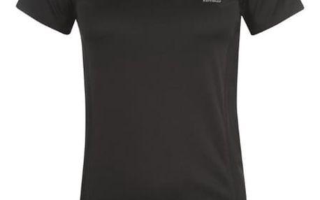 Značkové dámské běžecké triko Karrimor černé
