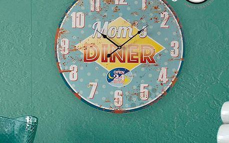 Nástěnné Hodiny Moms Diner