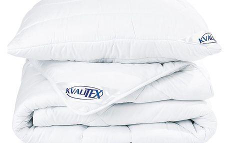Kvalitex Set přikrývky a polštáře zimní, 140 x 200 cm, 70 x 90 cm