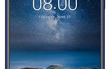 Nokia 8, dual SIM, Tempered Blue