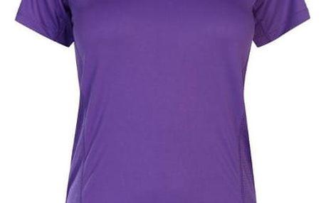 Značkové dámské běžecké triko Karrimor fialové