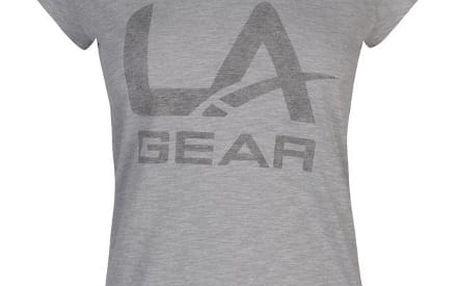 Dámské triko LA Gear šedé