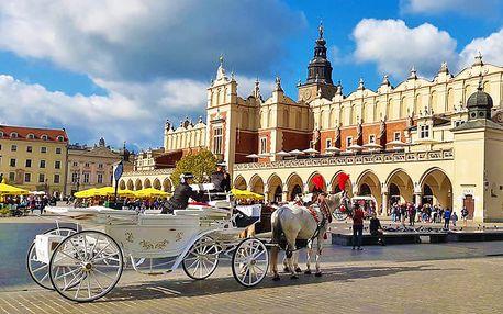 Historický Krakov ve stylovém hotelu se zámeckými pokoji + bazén, sauna, snídaně a balíček slev, platnost až do konce roku 2018