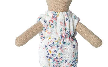 Maileg Myška ve spodním prádle Big sister 13 cm, béžová barva, textil