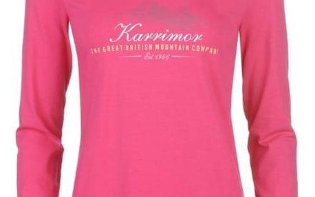 Dámské triko Karrimor růžové