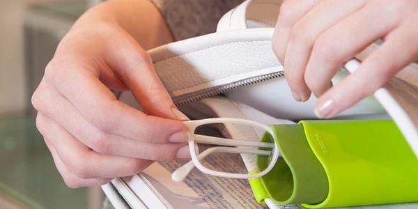 Červené závěsné pouzdro na brýle do kabelky Bobino® Glasses Case4