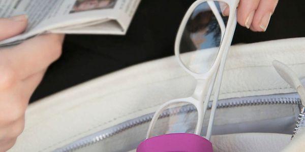 Červené závěsné pouzdro na brýle do kabelky Bobino® Glasses Case5