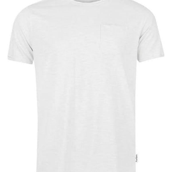 Značkové tričko Pierre Cardin RAW bílé