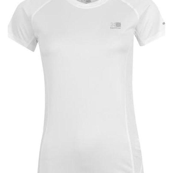 Značkové dámské běžecké triko Karrimor bílé
