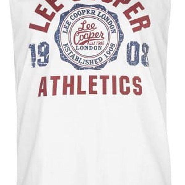Pánské tílko Lee Cooper bílé