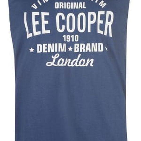 Pánské tílko Lee Cooper modré