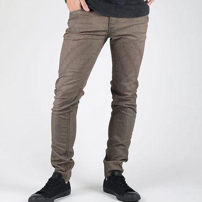 Džíny Diesel Sleenker Pantaloni Hnědá