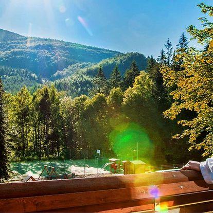 Rekondiční pobyt v horském hotelu v Beskydech