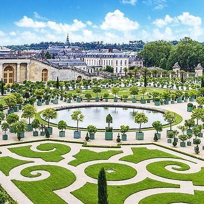 Romantická Paříž se zastávkou ve Versailles ubytování v hotelu, včetně vjezdu do Paříže