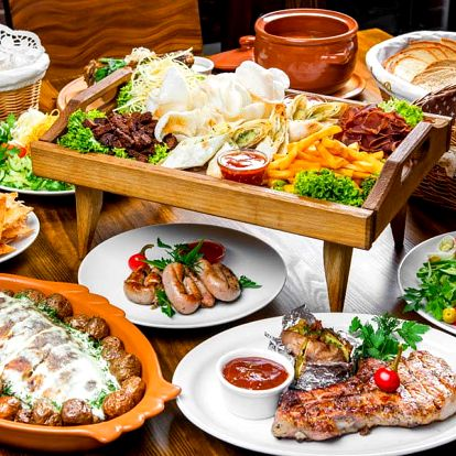 Raut až pro 6 jedlíků v restaurantu Flora
