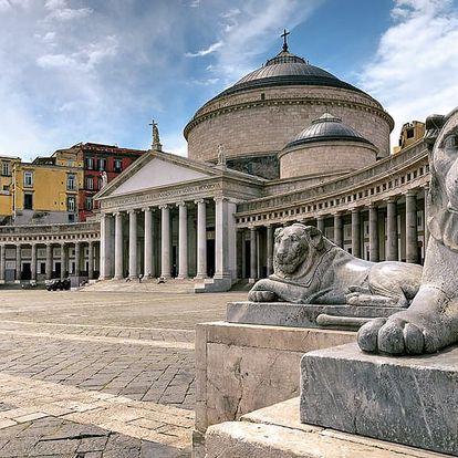 Top z Itálie: Řím, Vatikán, Pompeje, Vesuv, Herculaneum i ostrov Capri na 3 noci