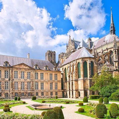 Paříž s Remeší a Versailles na 2 noci s ubytováním ve hotelu, včetně vjezdu do Paříže