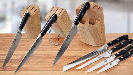 Sada nožů MESSER včetně dřevěného stojanu