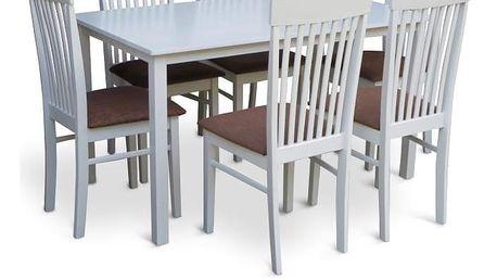 Stůl ASTRO 110, bílá
