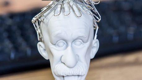 Stojan na papírové svorky Head