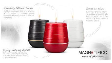 Afrodiziakální vonná svíčka Magnetifico