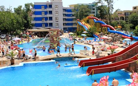 Bulharsko - Slunečné pobřeží Kuban Resort & Aquapark, all inclusive, letecky z Prahy