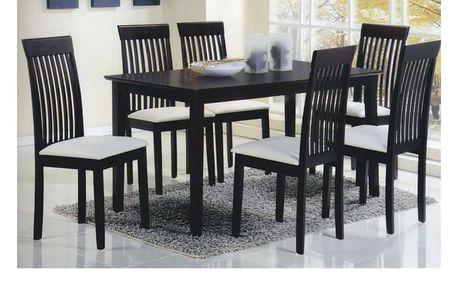 Jídelní stůl ASTRO 135x80x74 cm, wenge