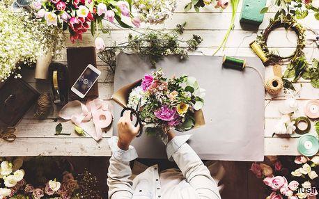 Kurzy floristiky v Květinovém Ateliéru