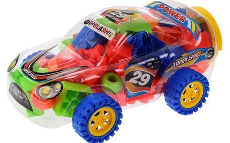 Dětské skládací kostky Rallye, 75 ks