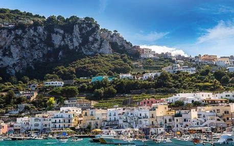 Top z Itálie: Řím, Vatikán, Pompeje, Vesuv, Herculaneum i ostrov Capri na 2 noci