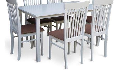 Stůl 135, bílá, ASTRO