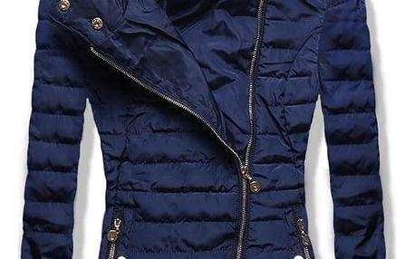 Dámská jarní/podzimní bunda Terry modrá