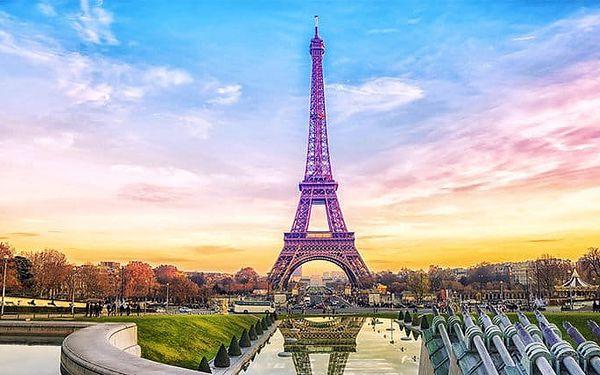 6denní zájezd s ubytováním pro 1 do Paříže s návštěvou honosných sídel králů