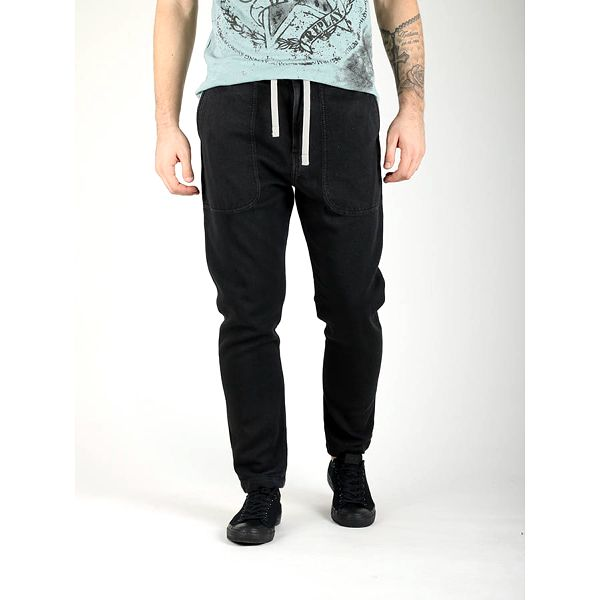 Džíny Replay M6533 Trousers Černá