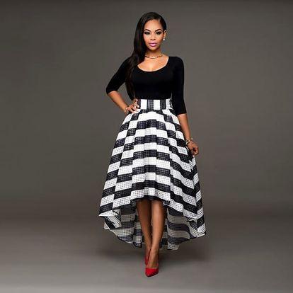 Top s maxi sukní