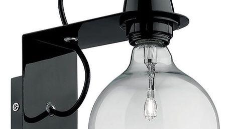 Černé nástěnné svítidlo Evergreen Lights City