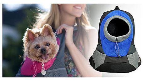 Bezpečný cestovní batoh pro vašeho mazlíčka