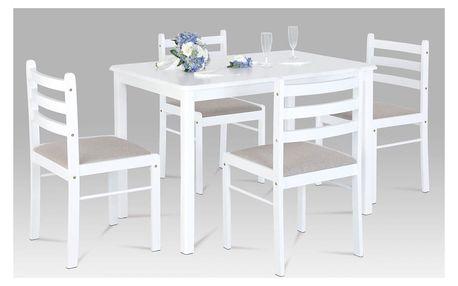 Set 1+4, 114x70 cm, barva bílá AUT-6060 WT Autronic