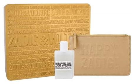 Zadig & Voltaire This is Her! dárková kazeta pro ženy parfémovaná voda 50 ml + kosmetická taška