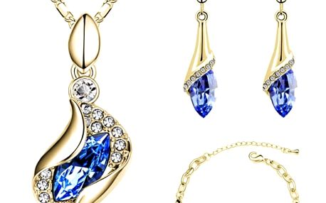 Elegantní sada šperků - 16 variant