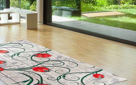 Odolný koberec Vitaus Fleur,80x150cm