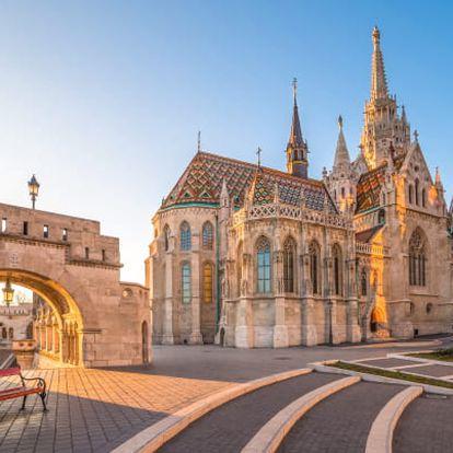 Budapešť v centru se snídaní