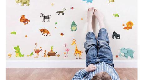 Samolepka na zeď - zvířátka