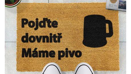 Rohožka Artsy Doormats Pivo,40x60cm
