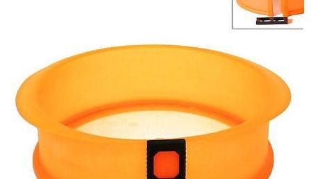 Silikonová forma na dort se skleněným dnem Orion