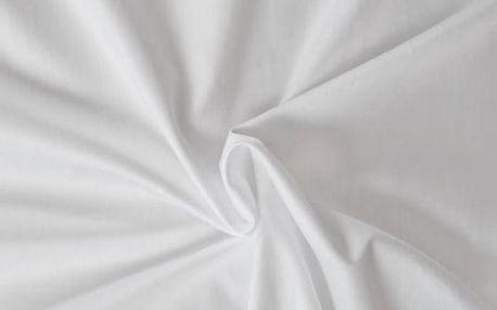 Kvalitex prostěradlo satén bílé, 160 x 200 cm