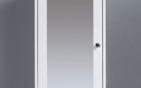 Skřiňka se zrcadlem basic, 34/53/15 cm