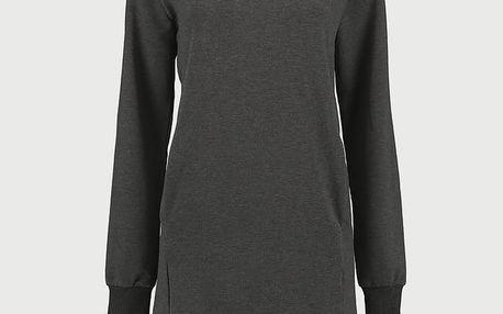 Šaty O´Neill LW Sweatshirt Dress Černá
