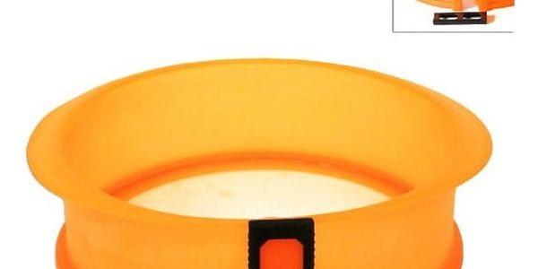 Orion forma na dort silikon a skleněné dno 23,5x7,5cm